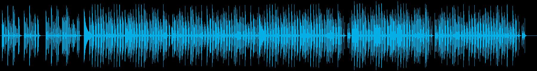 脱力系ほのぼの愉快なBGMの再生済みの波形