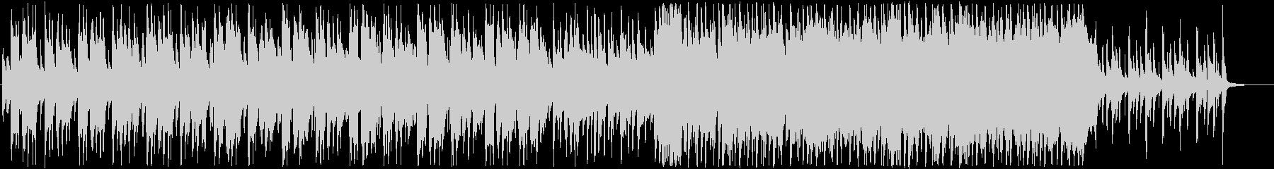 プロモーション動画などに使える軽やかな曲の未再生の波形