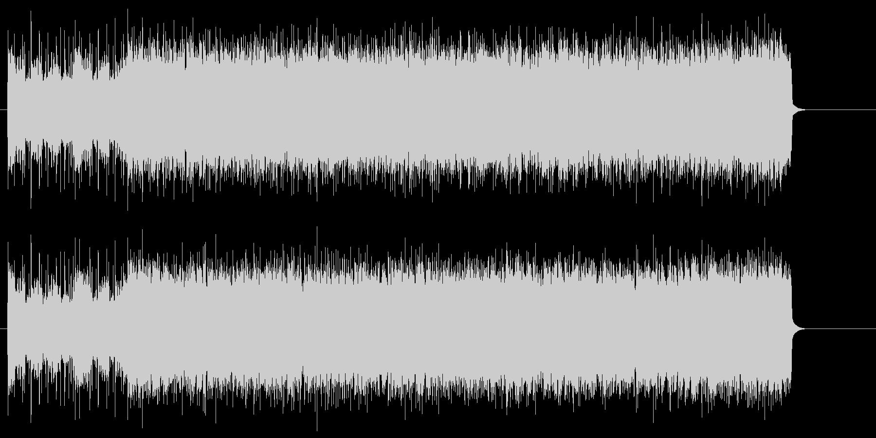 疾走感のあるハードロック(イントロ~A)の未再生の波形