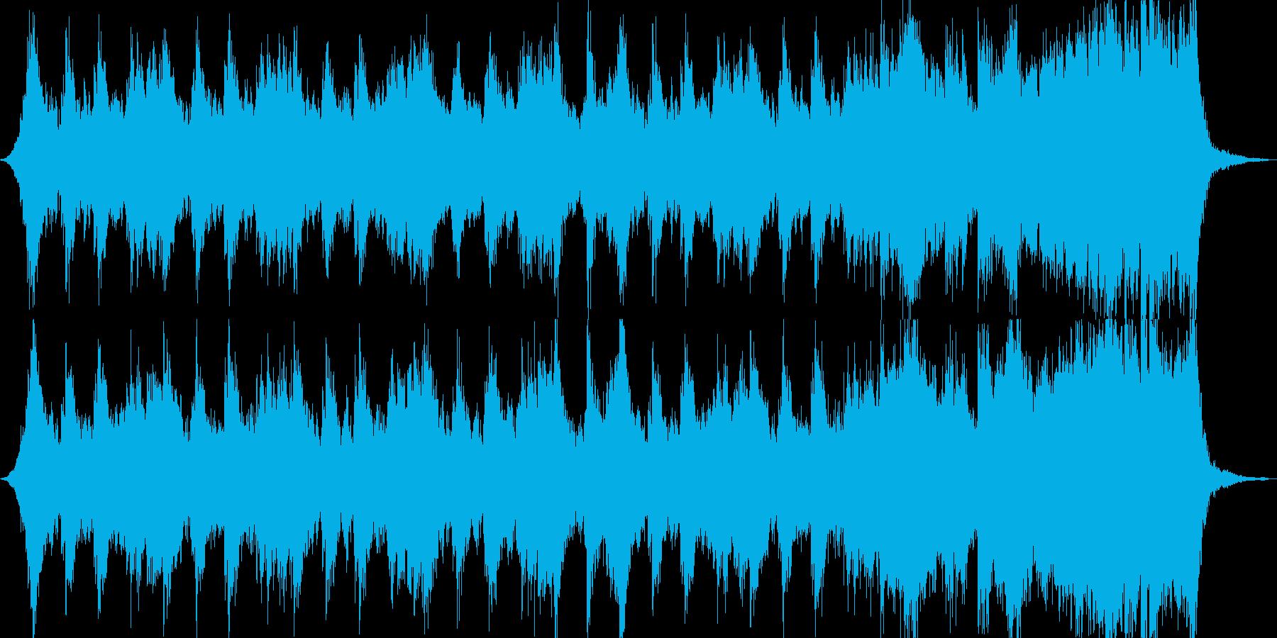 バトル、競技系のオーケストラの再生済みの波形