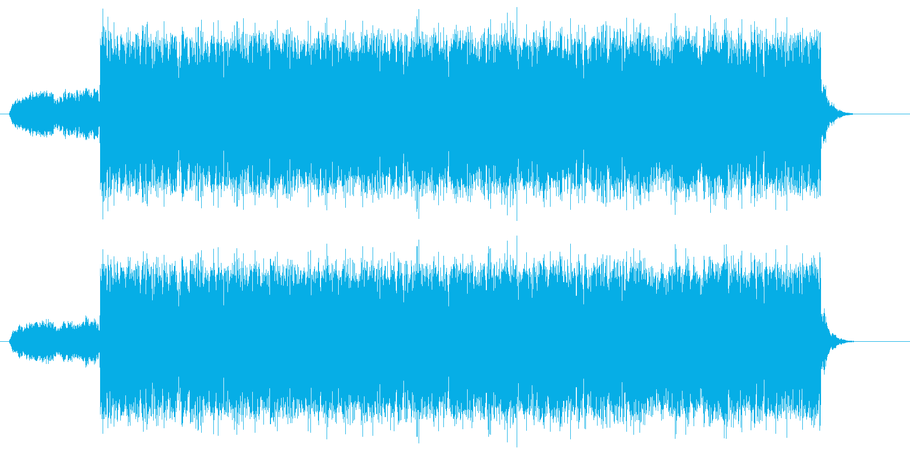 都会的で洗練されたロックな曲の再生済みの波形
