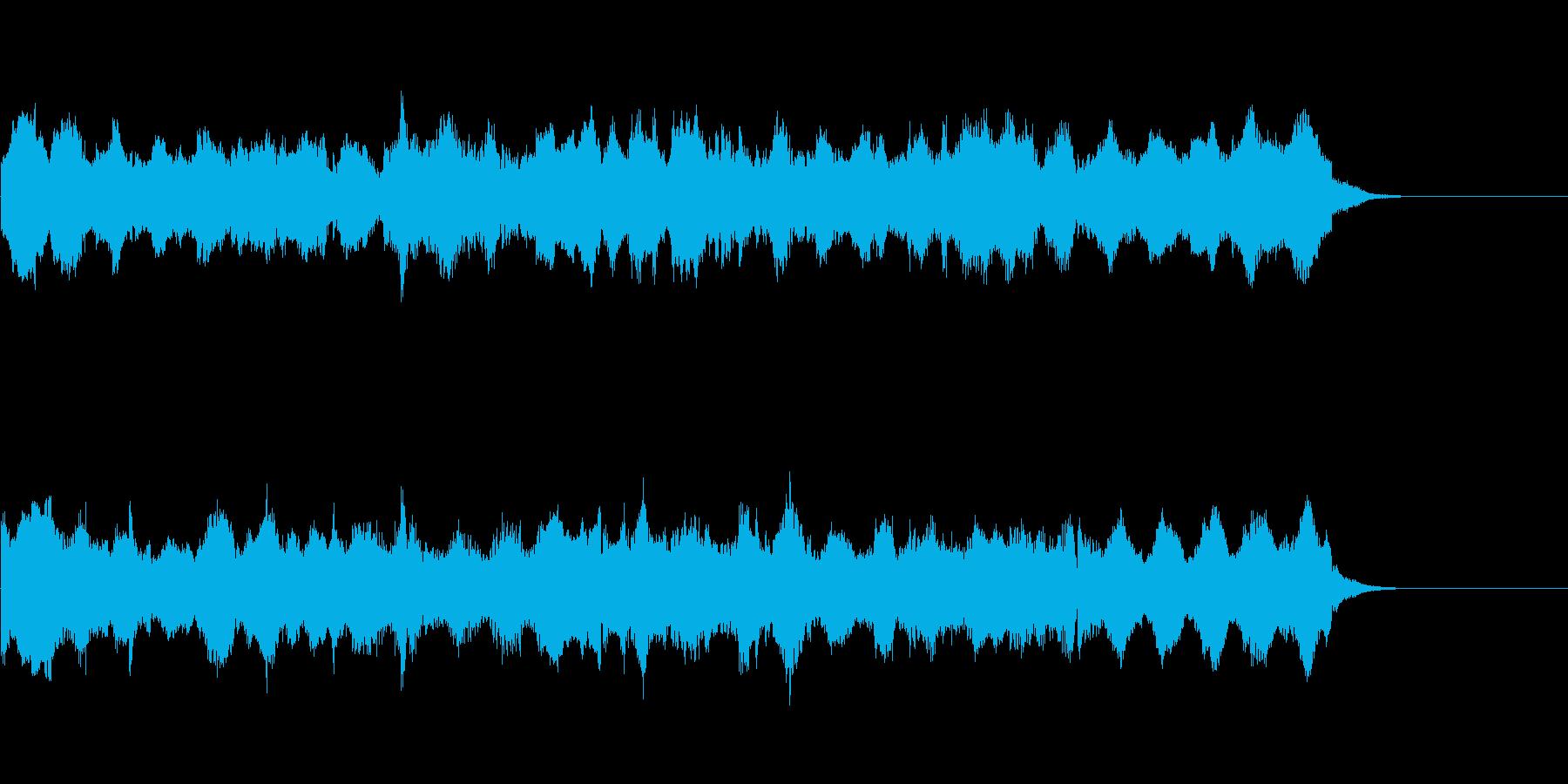 ウエディング、セレモニーに使えるオルガンの再生済みの波形