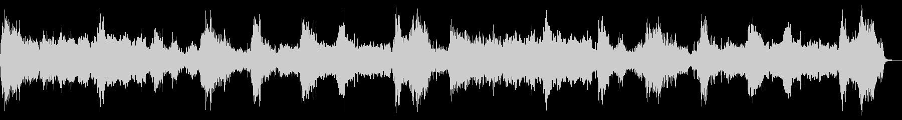 ダークなストリングス ピアノ 恐怖を演出の未再生の波形