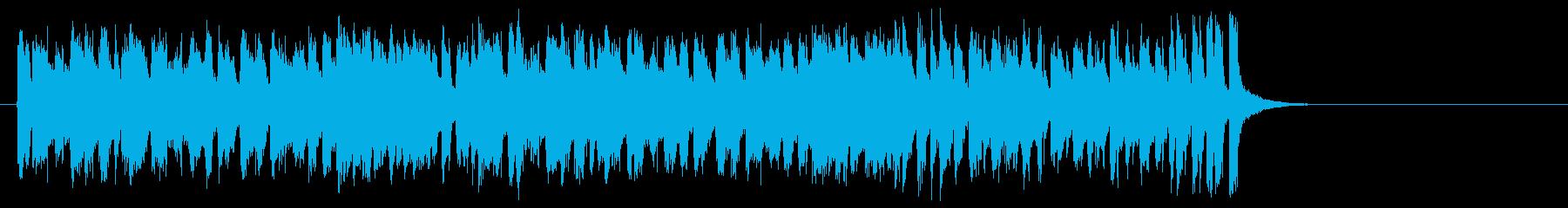 ラテン系フュージョン(サビ~イントロ)の再生済みの波形