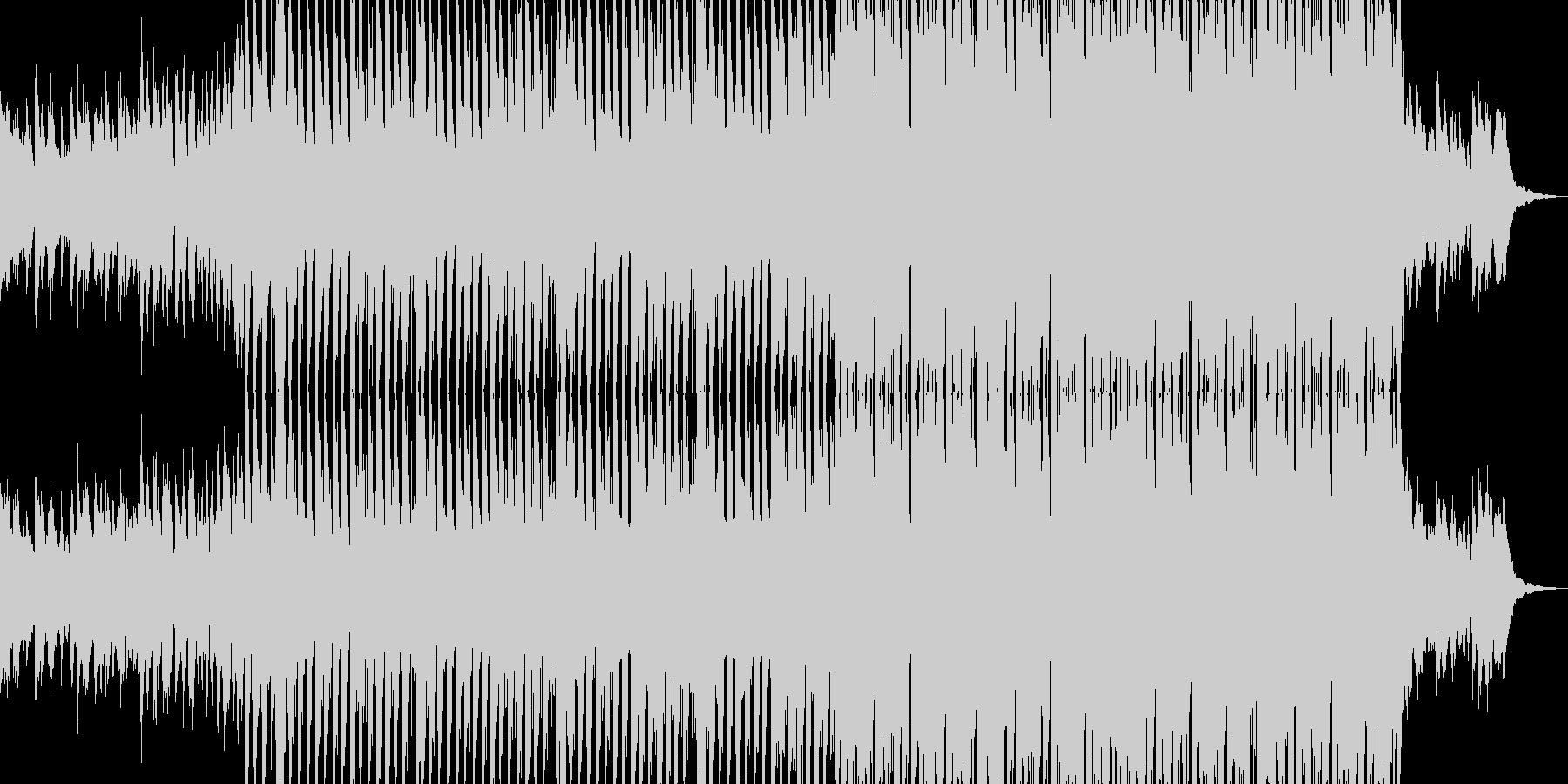 House track 02の未再生の波形
