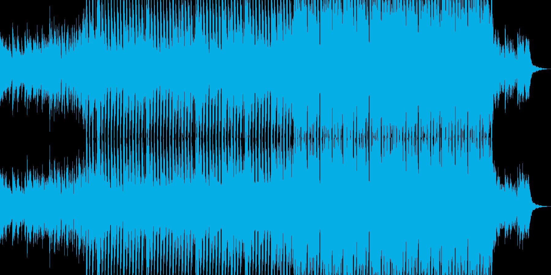 House track 02の再生済みの波形
