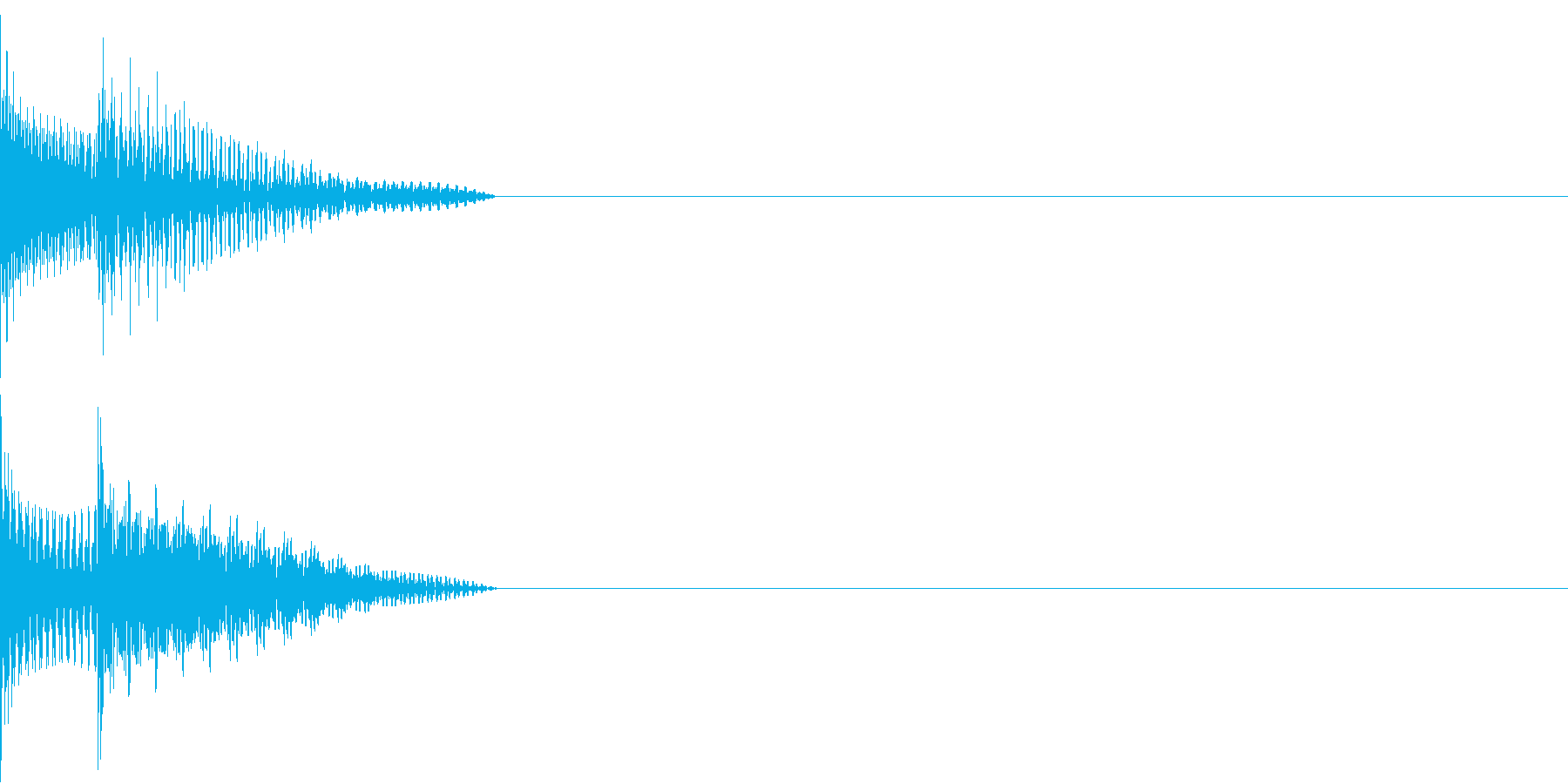 Cursor セレクト・カーソルの音3の再生済みの波形