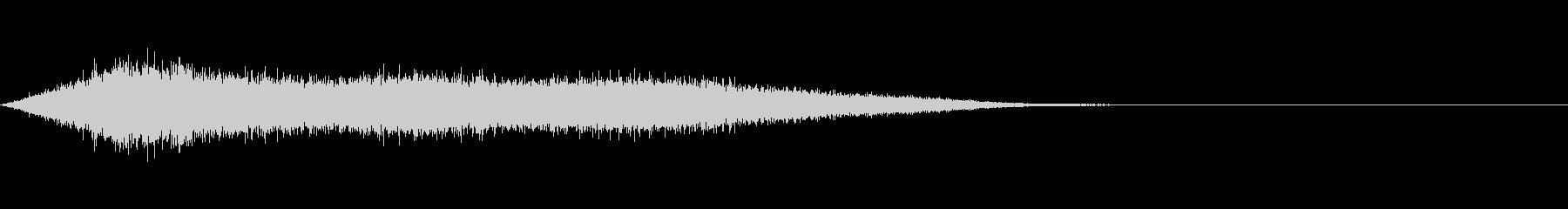 ワァーキャー!コンサートやライブの歓声3の未再生の波形