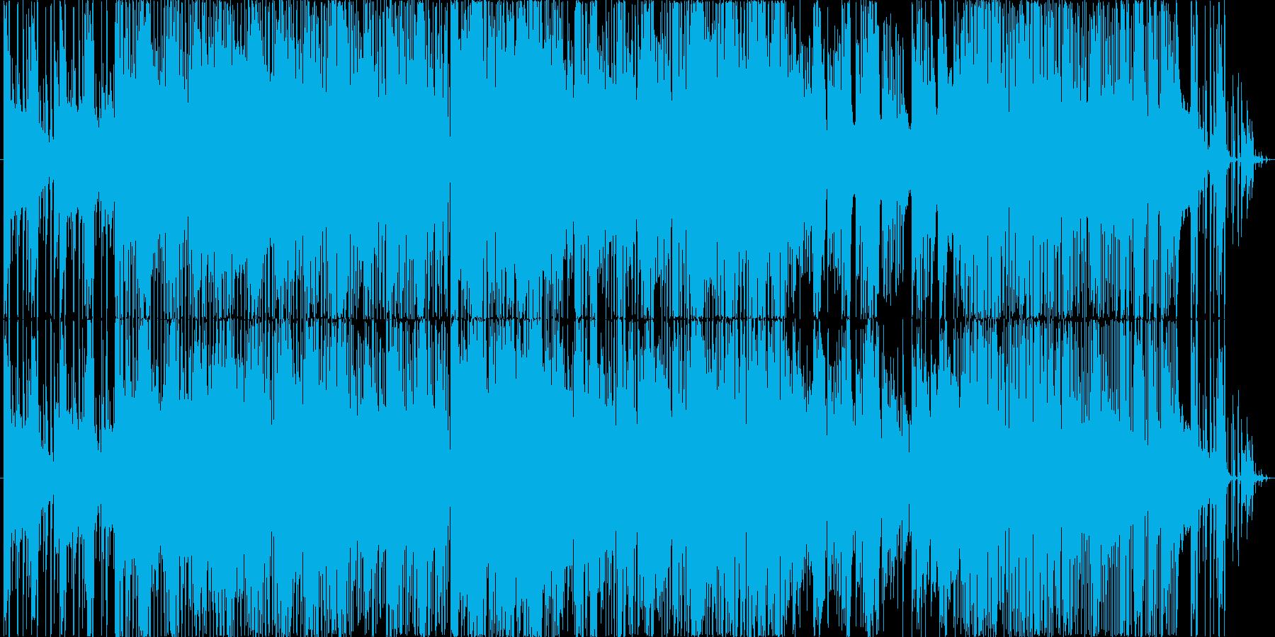 胸騒ぎや不安感などをクールにの再生済みの波形