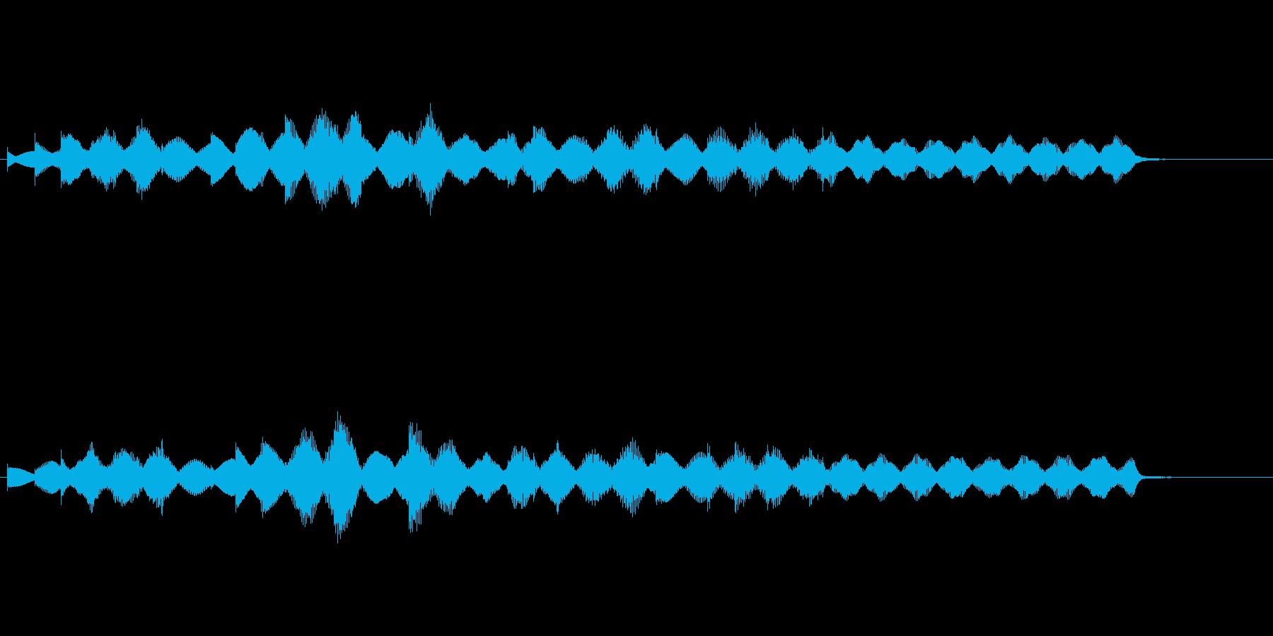 メロディックなエレピのジングルの再生済みの波形