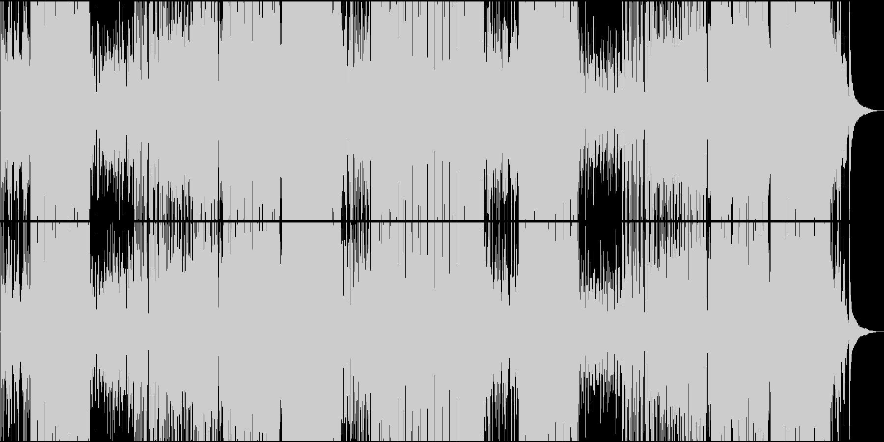 ダンサブル爽やかReggaetonEDMの未再生の波形