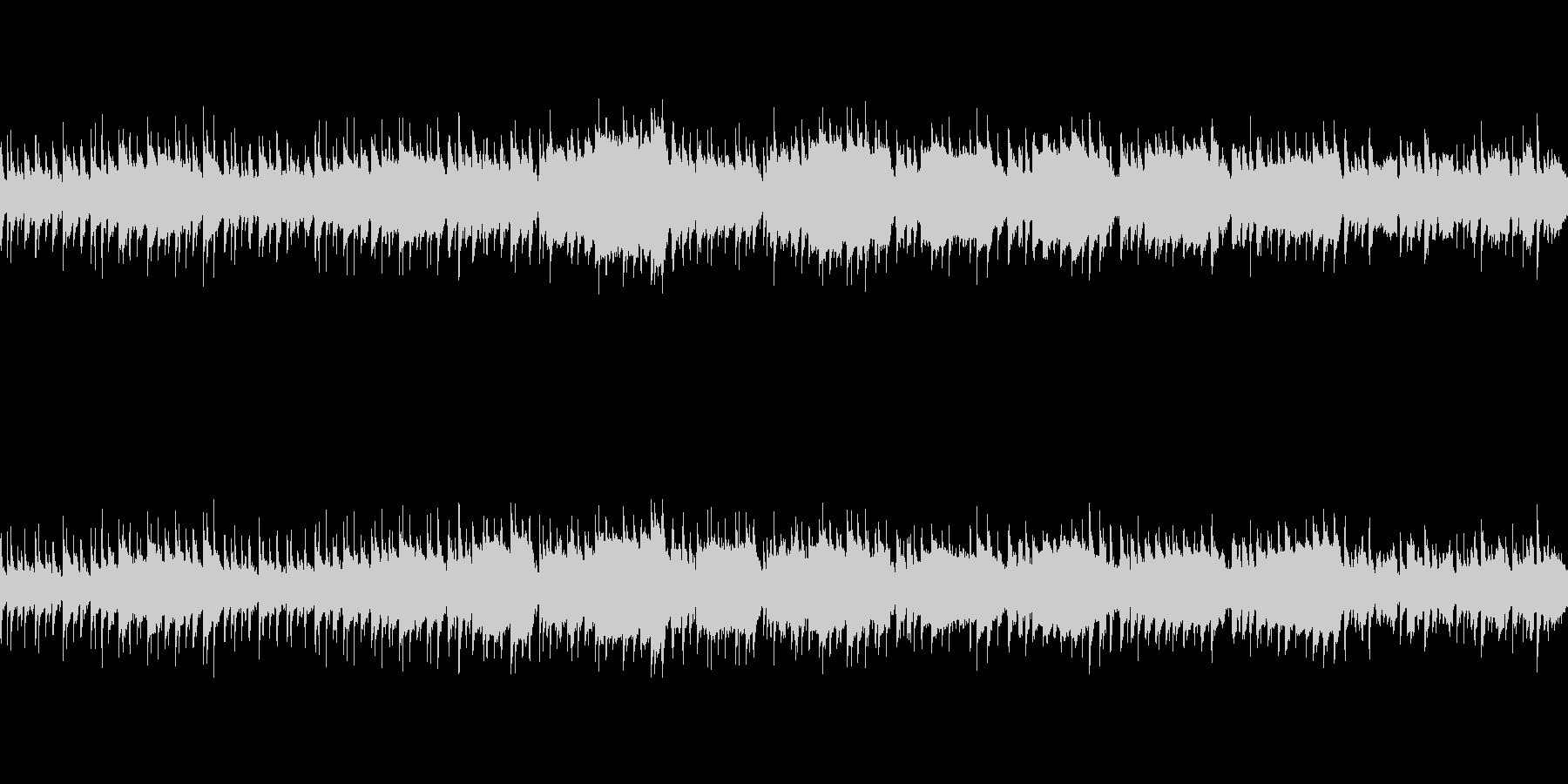 日常系アコースティック楽曲(ループ仕様)の未再生の波形