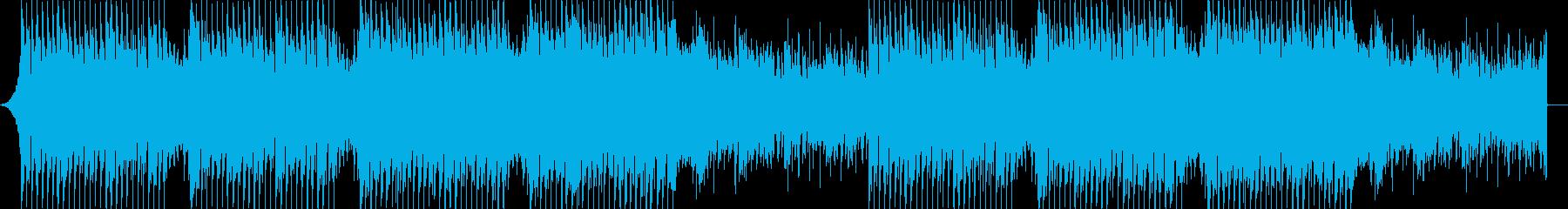 企業VPや映像に、爽やかポップ4つ打ち3の再生済みの波形