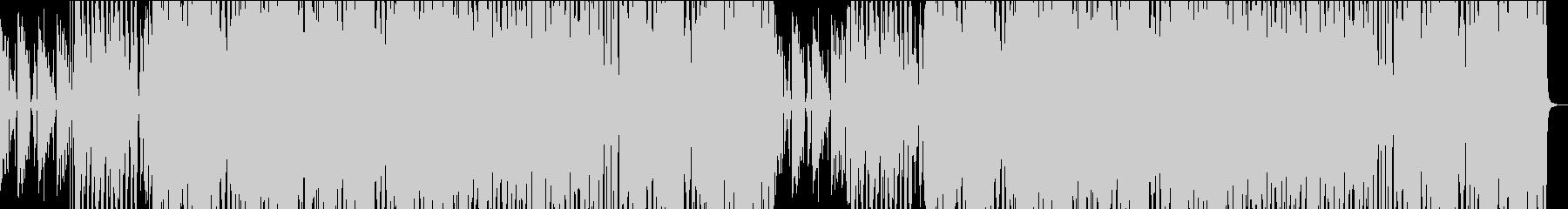 POPな70'~80'年代のディスコ風の未再生の波形