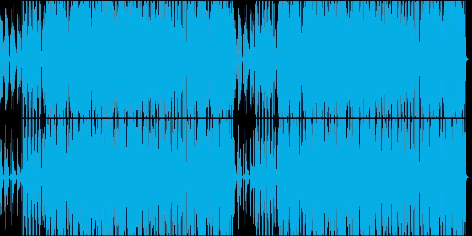 POPな70'~80'年代のディスコ風の再生済みの波形