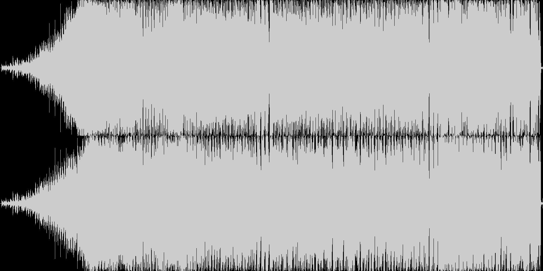 明るい雰囲気のEDMポップジングルです。の未再生の波形