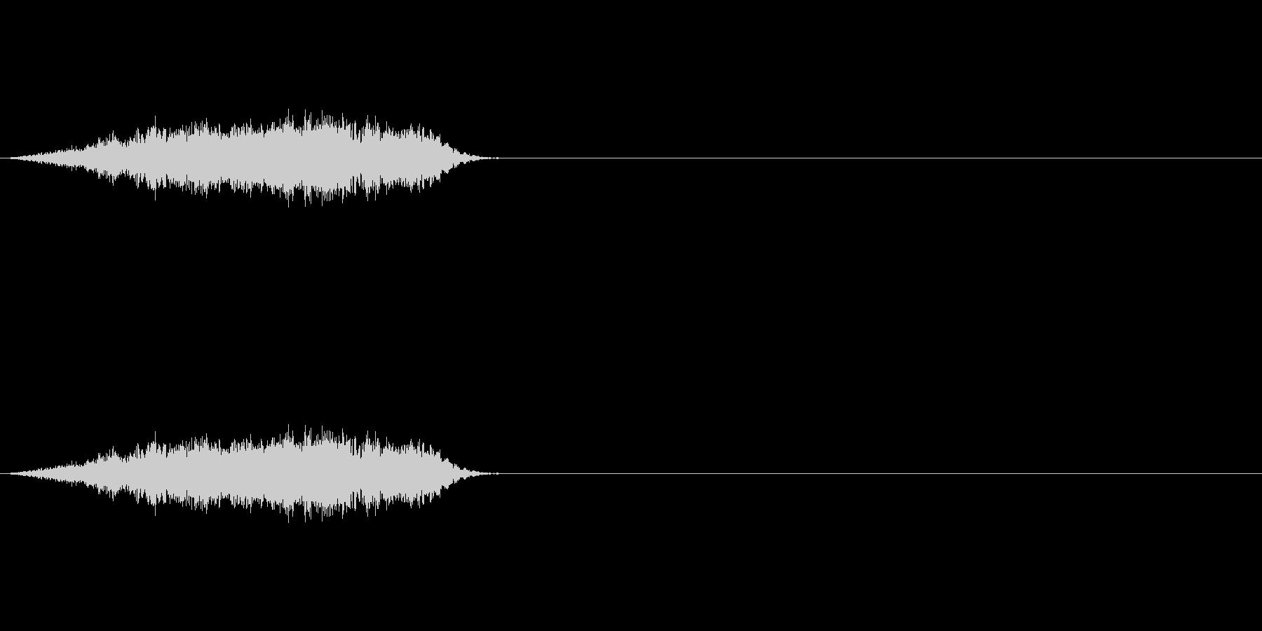 【ヒューン!】ビームやキャノン砲通過音の未再生の波形