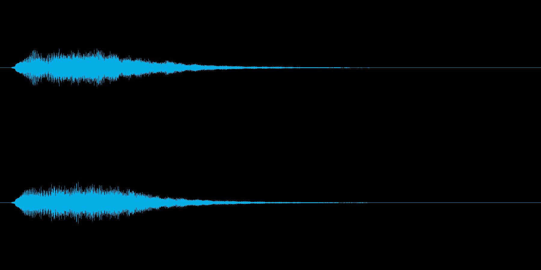【ショートブリッジ27-01】の再生済みの波形