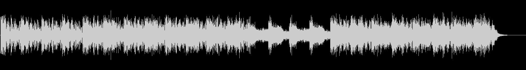 映像向けニューエイジ系のBGM(WAV)の未再生の波形