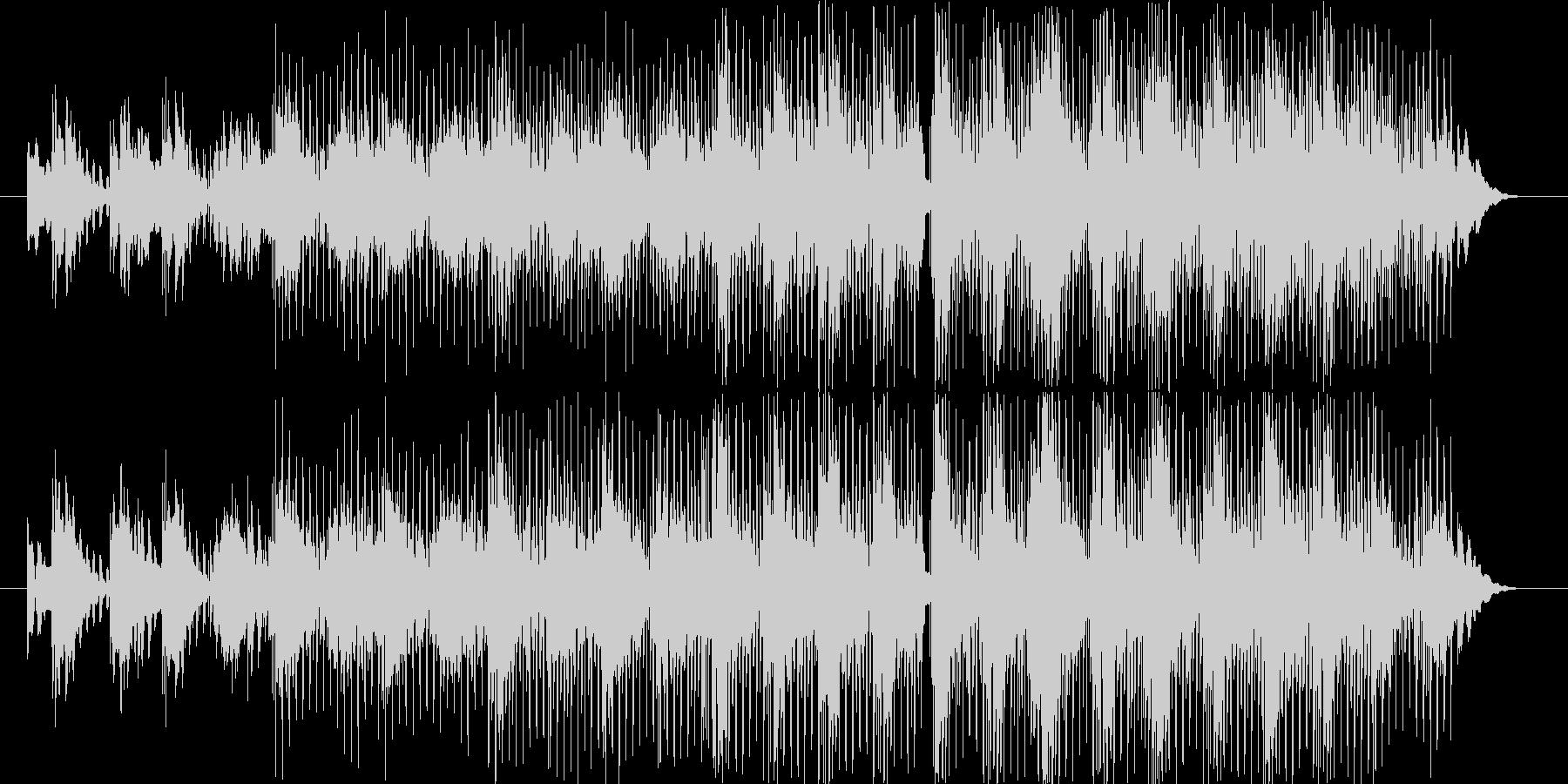 浮遊感のあるBGMの未再生の波形
