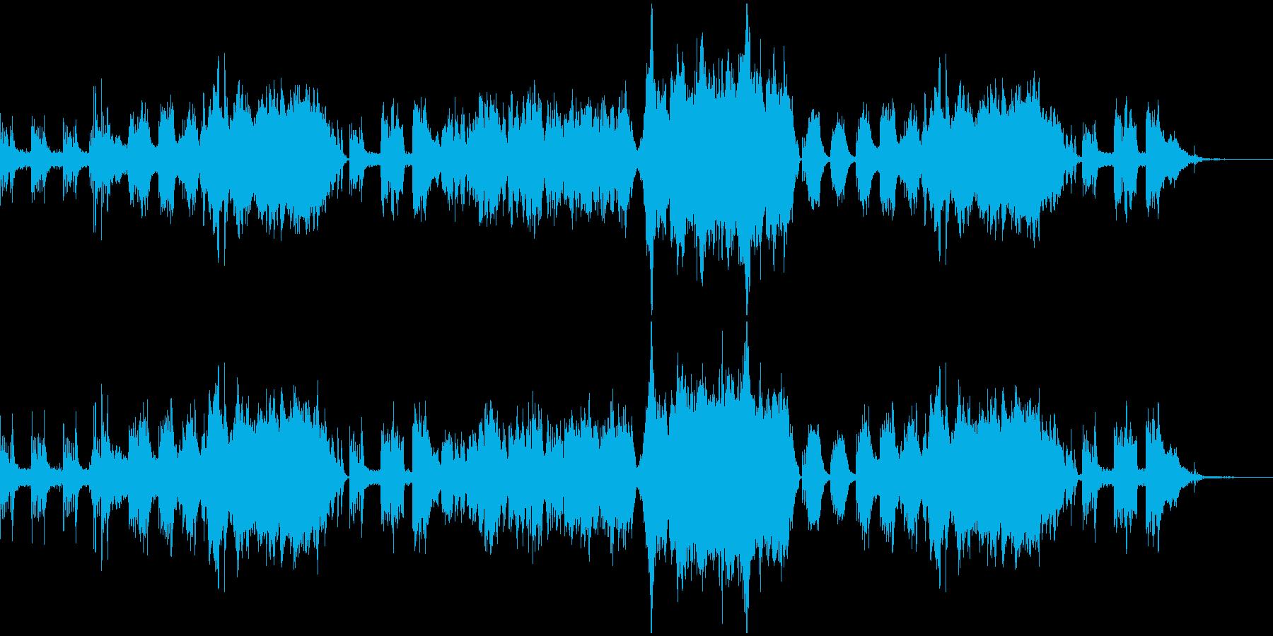 感動的なシーンに合う壮大なピアノ協奏曲の再生済みの波形