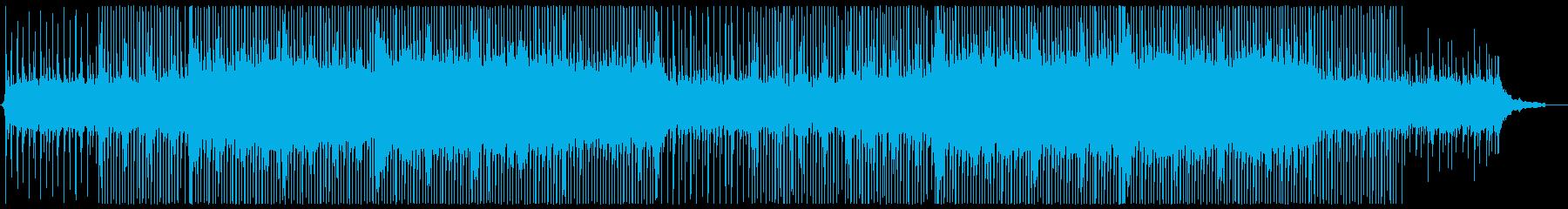 アコースティックなコンセプトムービー風の再生済みの波形