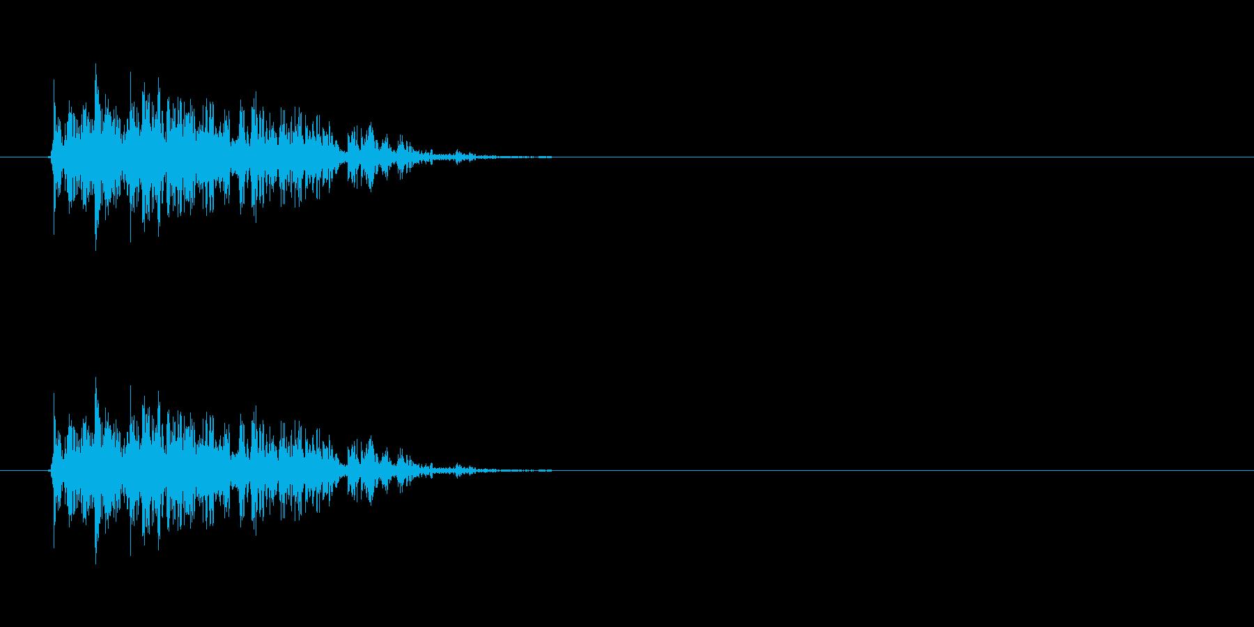 【ブーブークッション01-1】の再生済みの波形