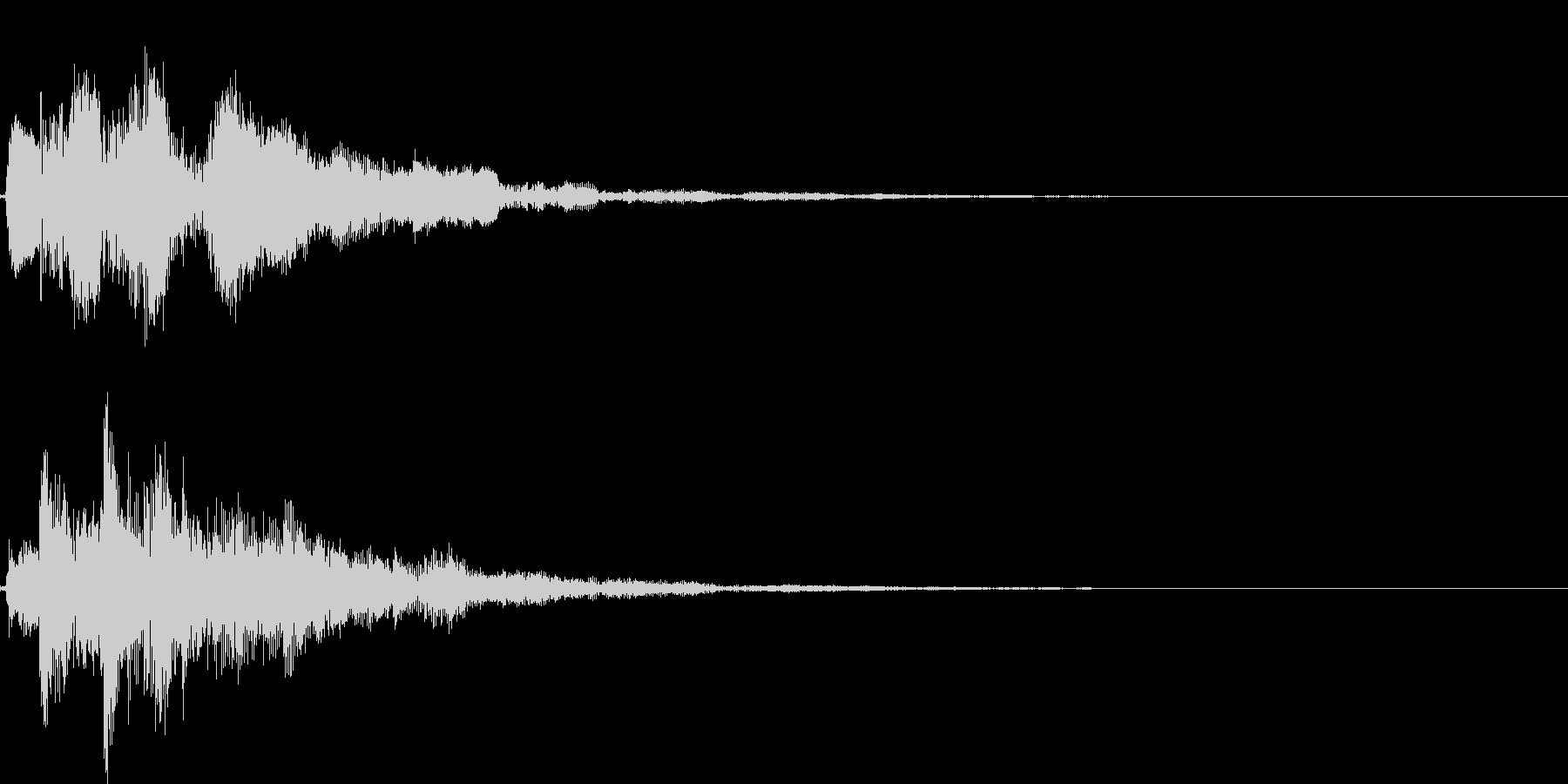 ピロリローン(クリア、アイテムゲット)の未再生の波形