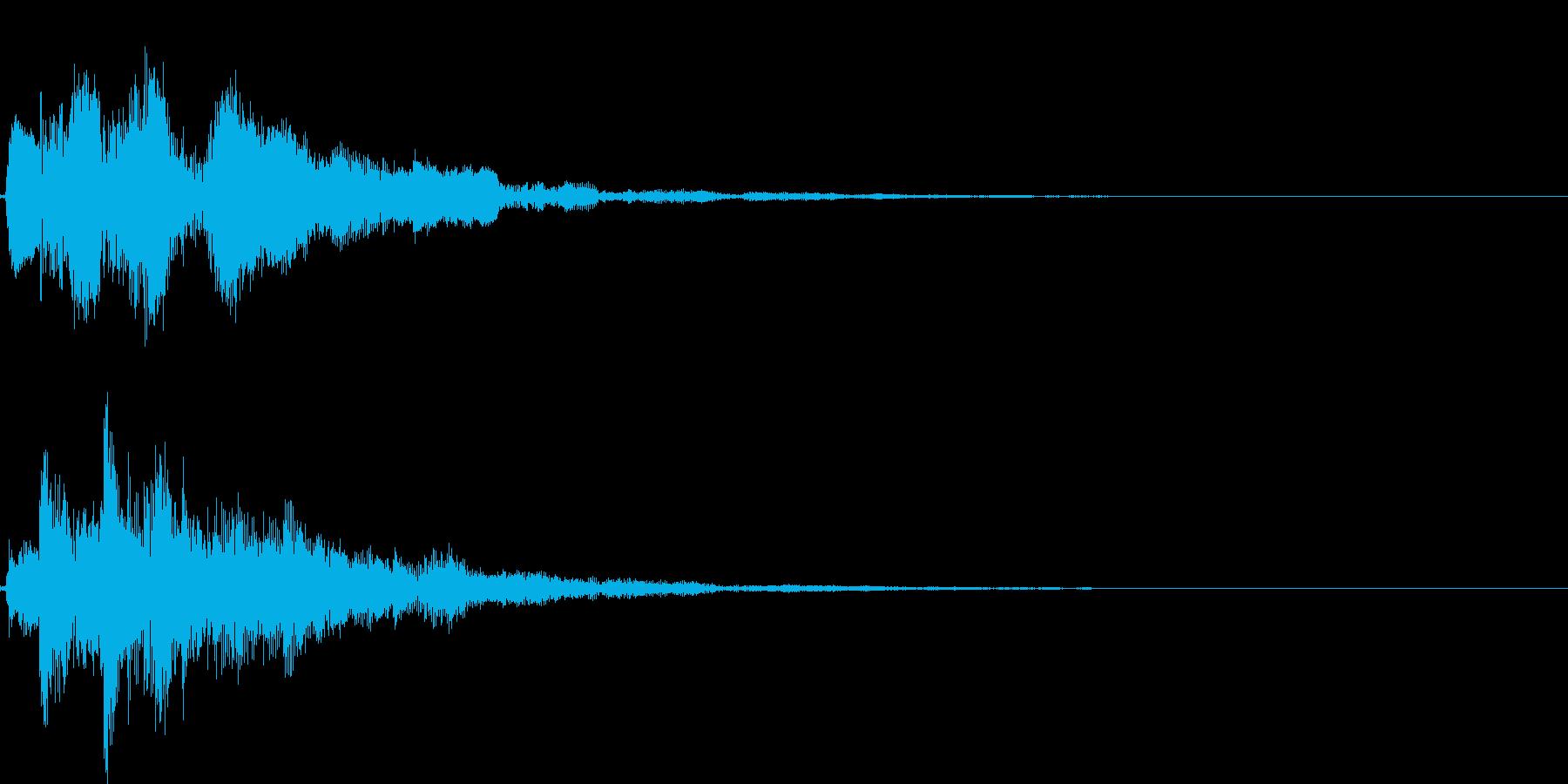 ピロリローン(クリア、アイテムゲット)の再生済みの波形