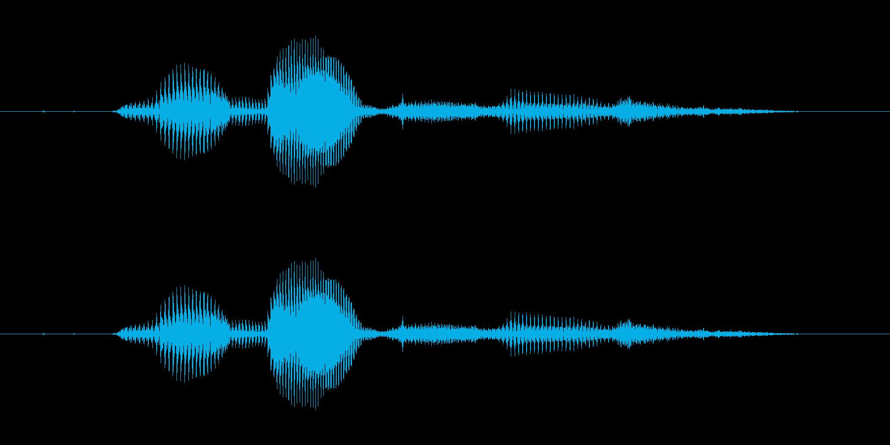 【時報・時間】7時です (なな)の再生済みの波形