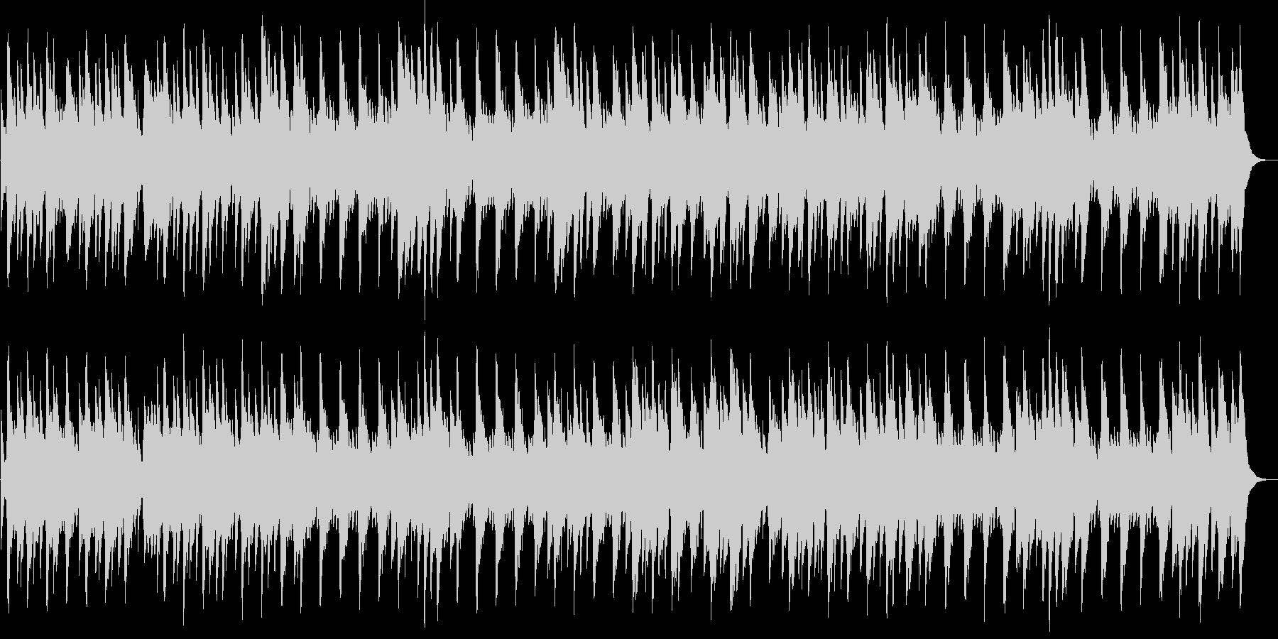 マイ・ボニー(オルゴール)の未再生の波形
