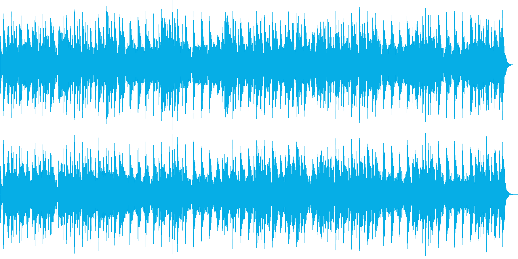 マイ・ボニー(オルゴール)の再生済みの波形
