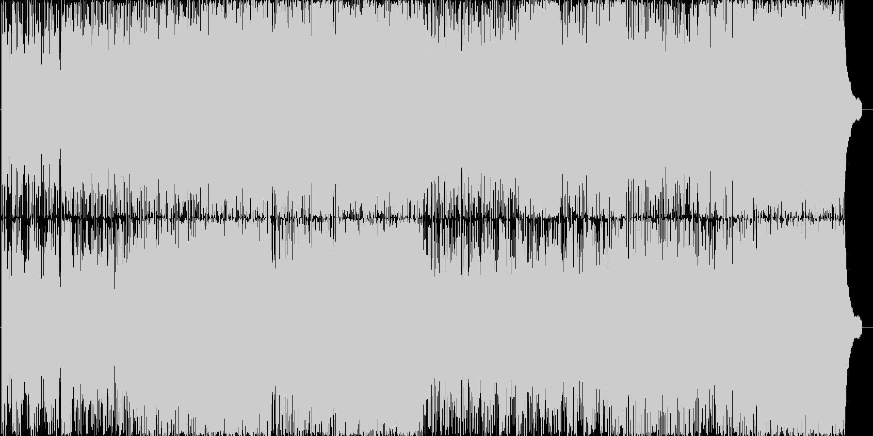 和風スラップベースフュージョンの未再生の波形