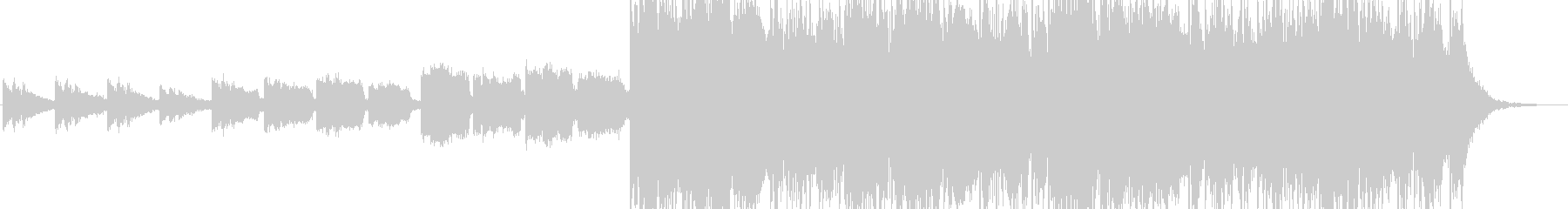 思案、模索中の様なエレクトロアンビエントの未再生の波形