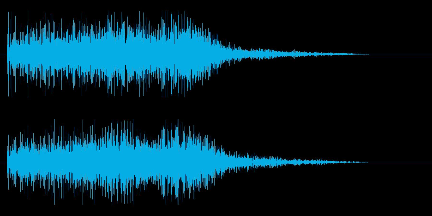 Lv.UP、勝利ファンファーレ.01の再生済みの波形