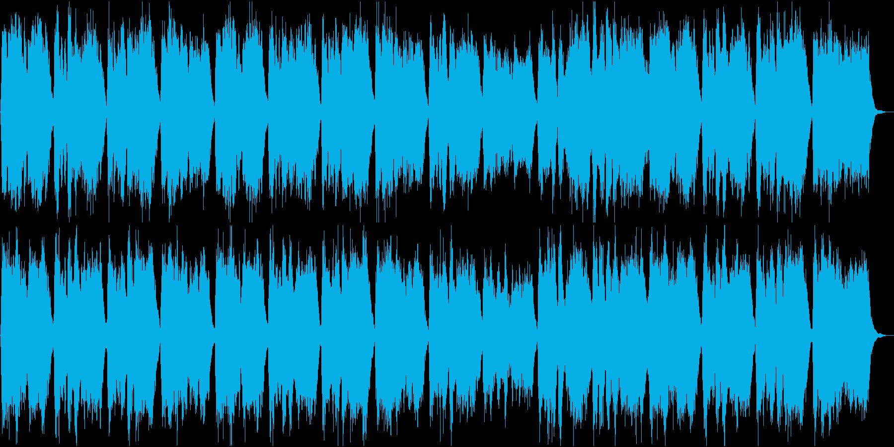 表彰式の定番曲・ヘンデルの得賞歌の再生済みの波形