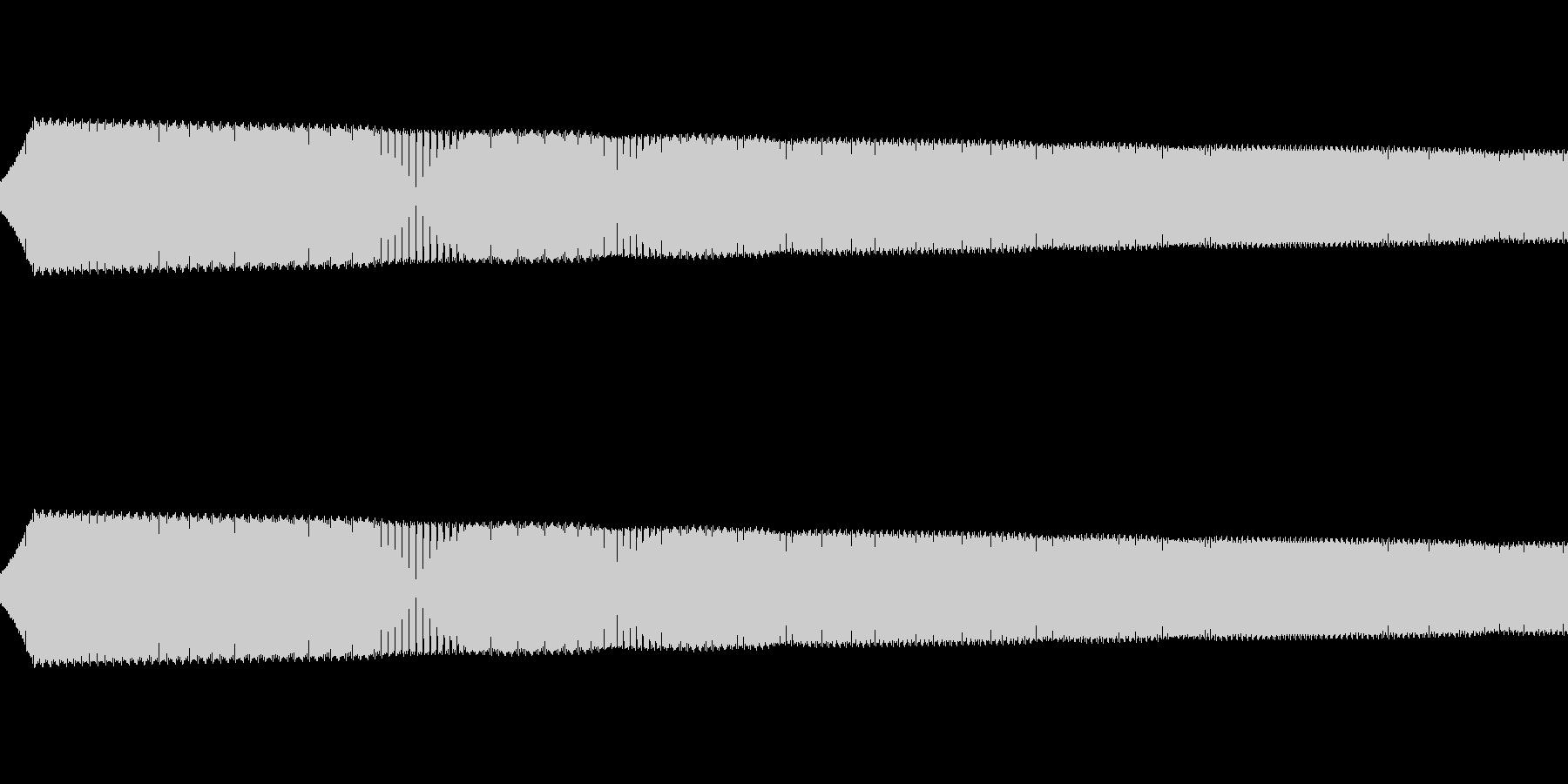 ピョイ:ゲームのジャンプ音の未再生の波形