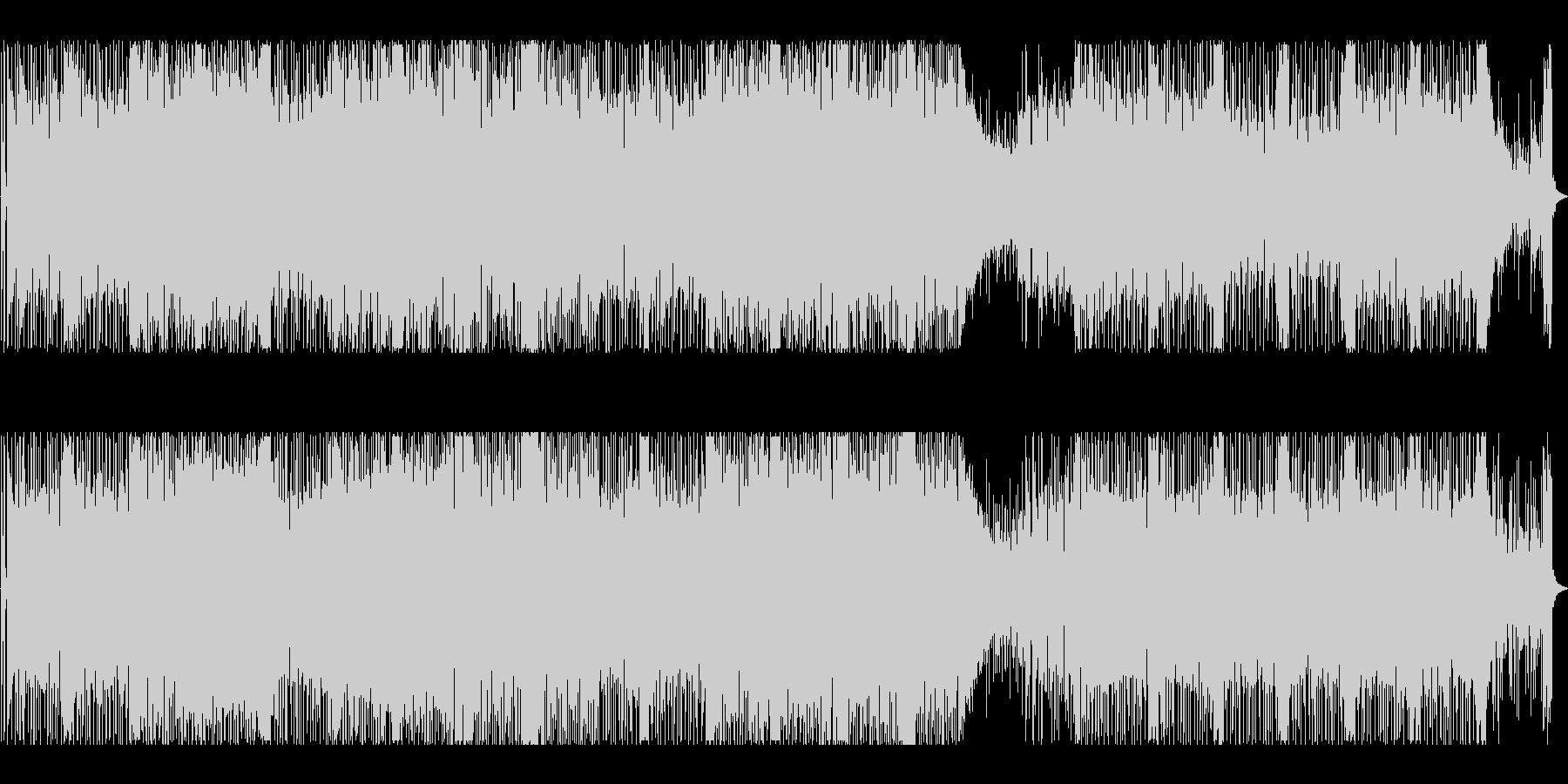 摩天楼・夜景・16ビート・フュージョンの未再生の波形