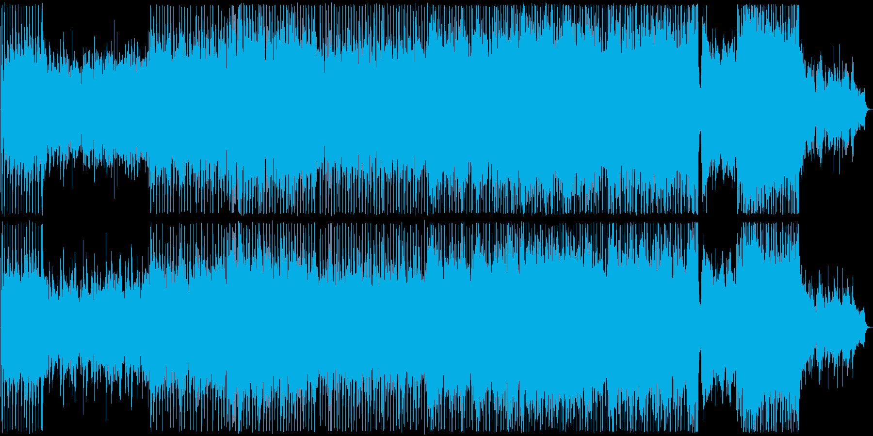 晴れやか気分のバラードの再生済みの波形