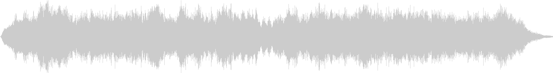 優しく懐かしい唱歌「故郷」弦楽合奏15sの未再生の波形