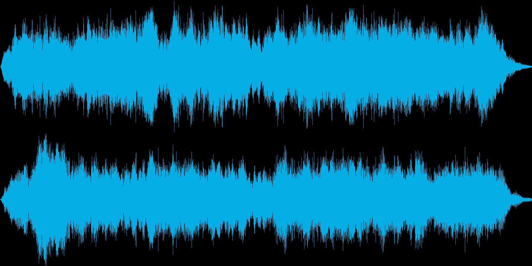 優しく懐かしい唱歌「故郷」弦楽合奏15sの再生済みの波形