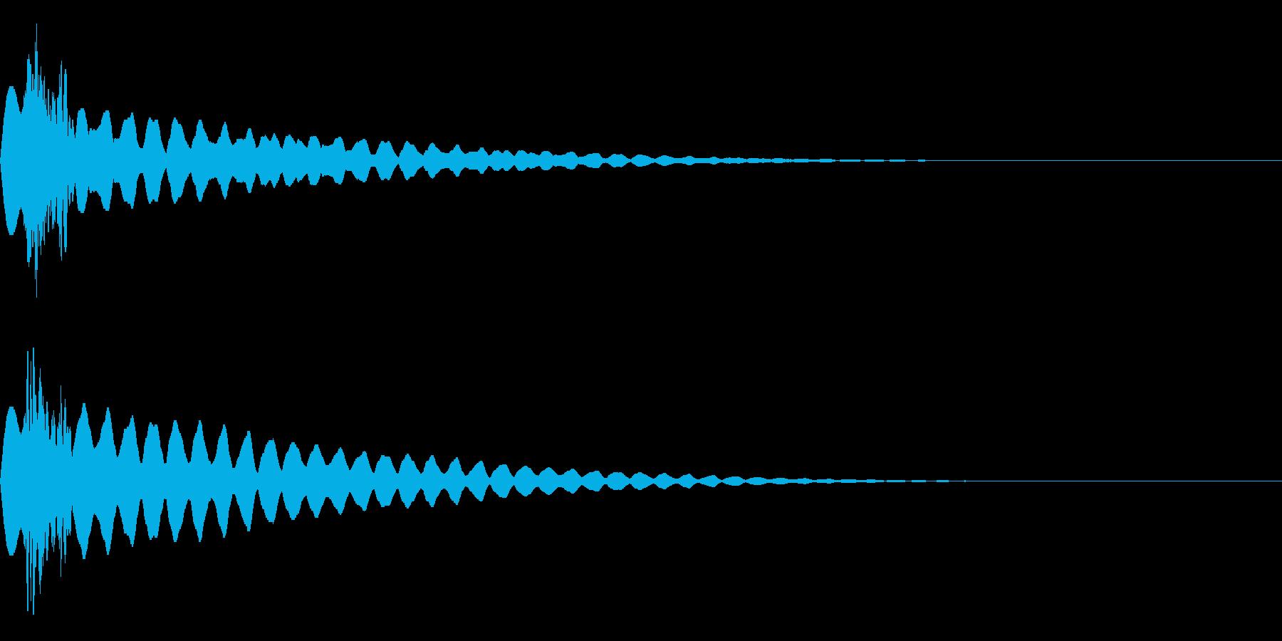 キュピーン!(輝き/閃き/きらめき)の再生済みの波形