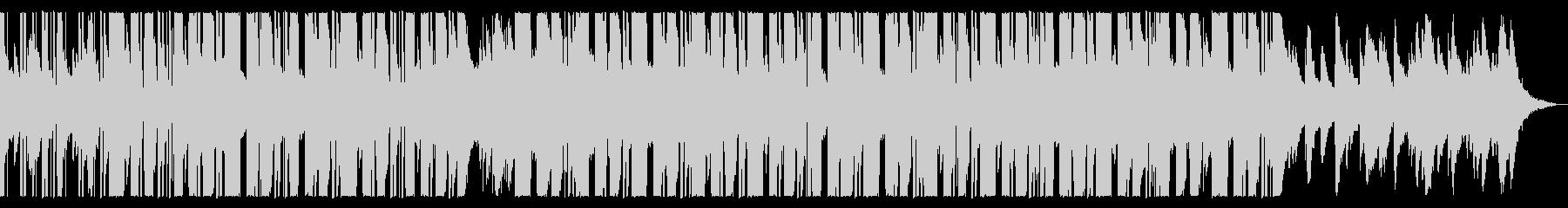 少し切ない冬の始まりピアノチルホップの未再生の波形