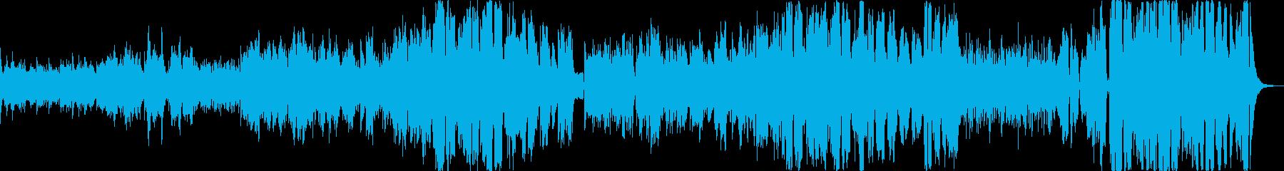 サーカスがテーマのファンタジーポップスの再生済みの波形