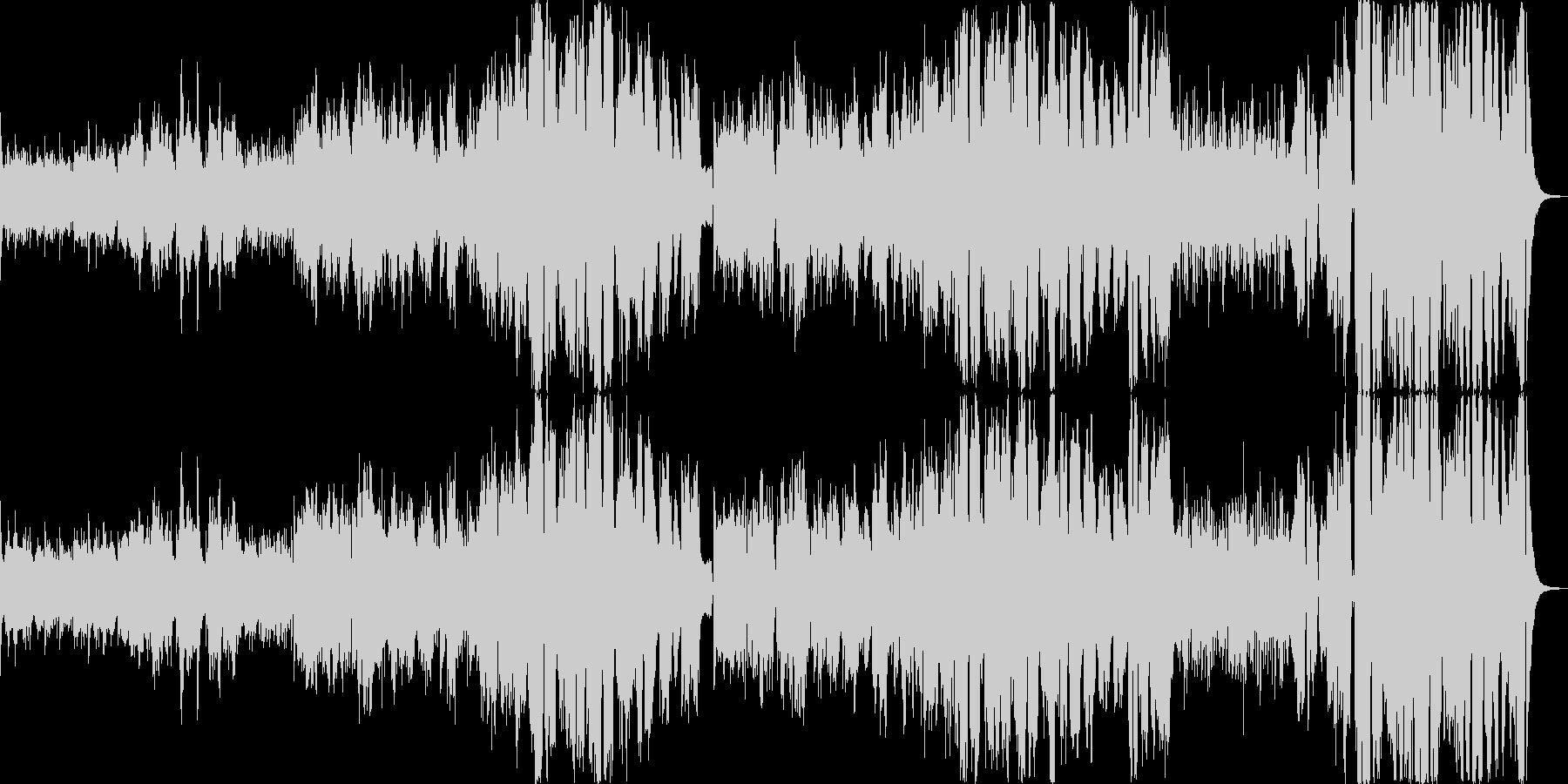 サーカスがテーマのファンタジーポップスの未再生の波形