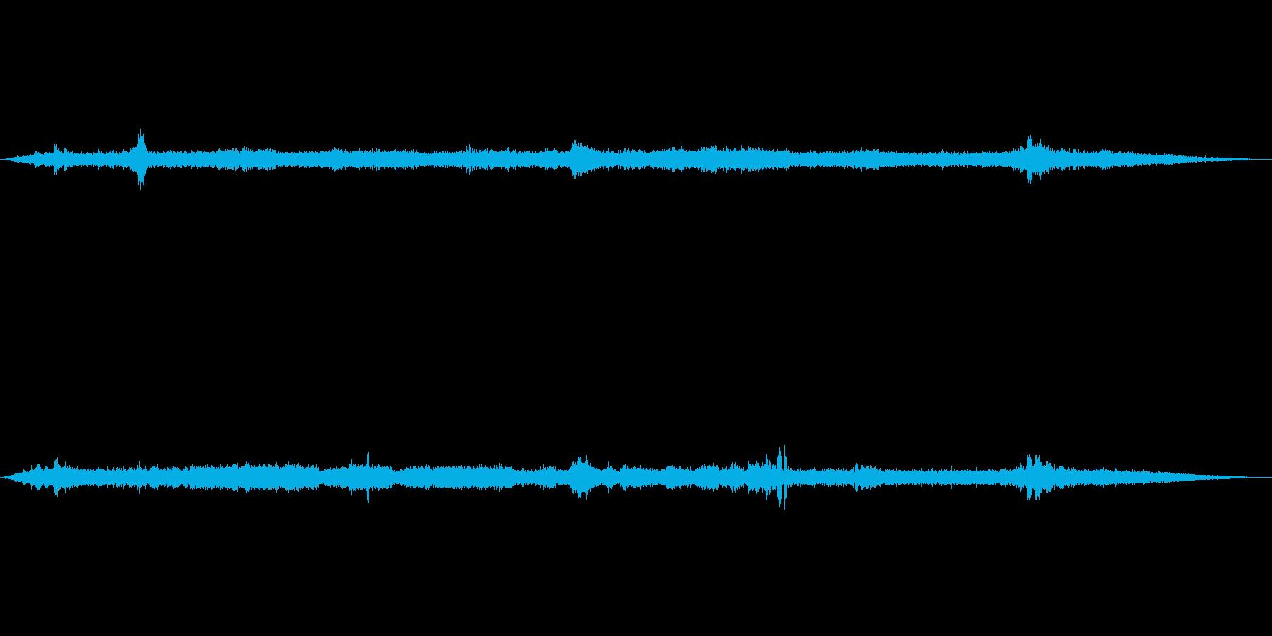 【特殊音】蜂が飛ぶ音01(下栗の里)の再生済みの波形