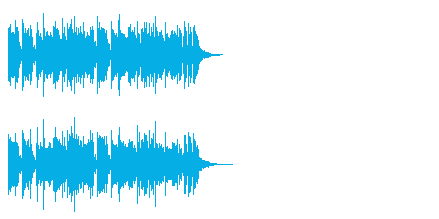 ジングル(フュージョン)の再生済みの波形