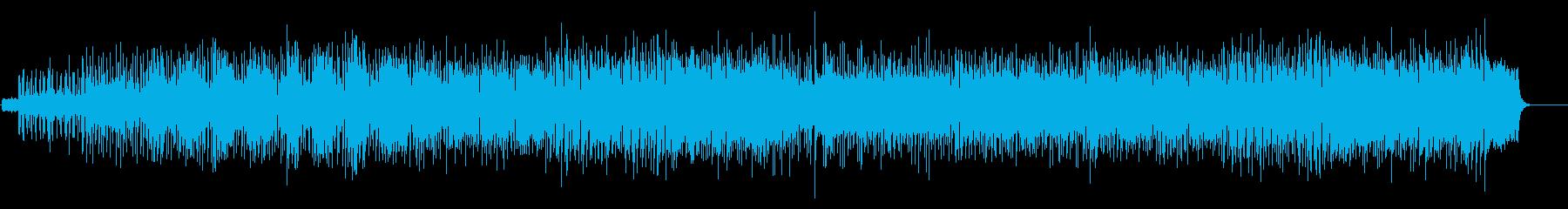 躍動感、勢い、生TP&EG、シンセメロの再生済みの波形