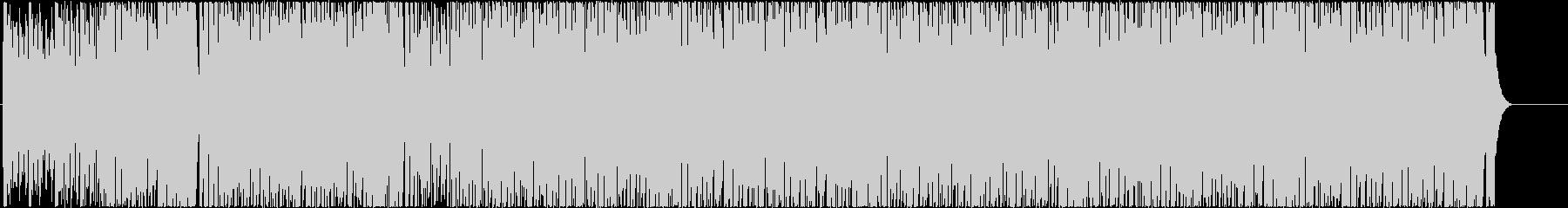 スピーディで夏を感じられるBGMの未再生の波形