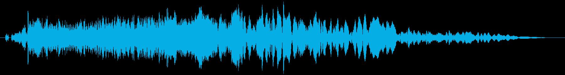 【レース,車】ド迫力のブレーキ効果音!の再生済みの波形